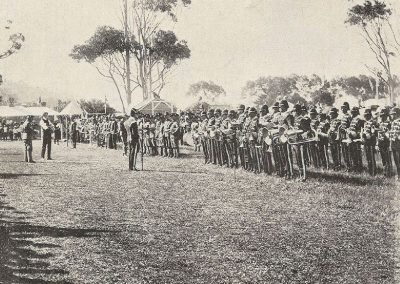 1910 Massing of the Bands