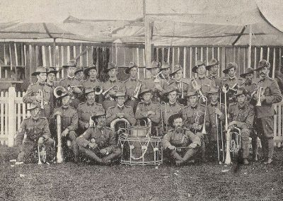 1910 Ulverstone Tasmanian Rangers Band, Winners of the Quickstep Competition