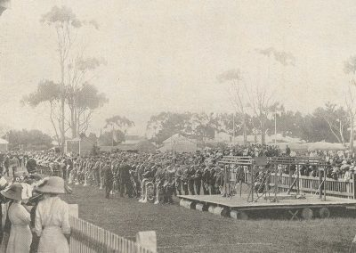 1912 Inspection of the Massed Bands