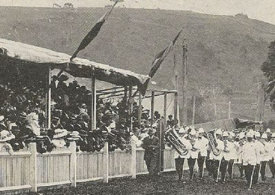 1913 Burnie Band wins the Quickstep
