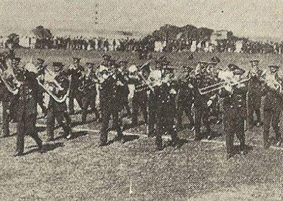 1922 Burnie Municipal Band, third