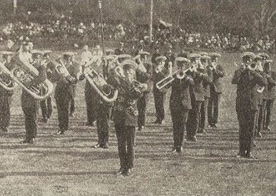 1922 Footscray Band (Vic.), winner of the B Grade Quickstep and Test Selection in the Band Contest