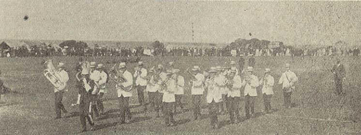 1922 Stanley Band, winners of the QuickstepCapture