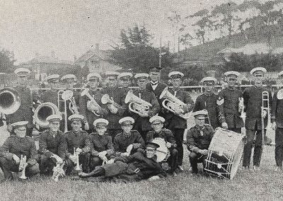 1923 Footscray Municipal Band, winners of Selection and Quickstep in B Grade Band Contest