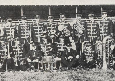 1926 Stanley Band, winners of the Quickstep