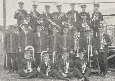 1927 The Smithton Band, which participated in the Carnival