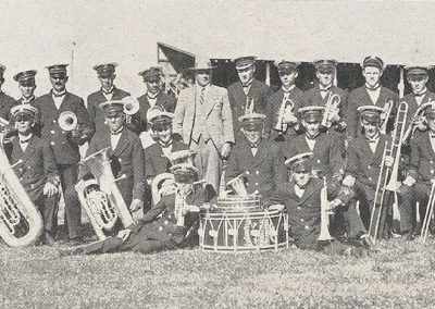 1928 A Fine Combination The Kingsville and Yarraville Band, second in the Selection and Quickstep (B) Grade