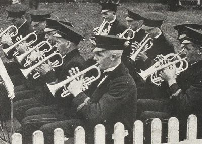 1932 The Burnie Municipal Band rendering one of their popular selections