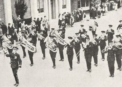 1935 Burnie Municipal Band , winners of the Quickstep and Test Selection events