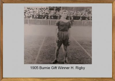 Burnie Gift 1905