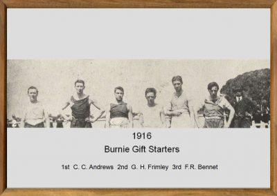 Burnie Gift 1916