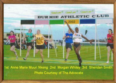 Women's Burnie Gift 2002