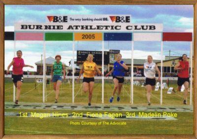 Women's Burnie Gift 2005
