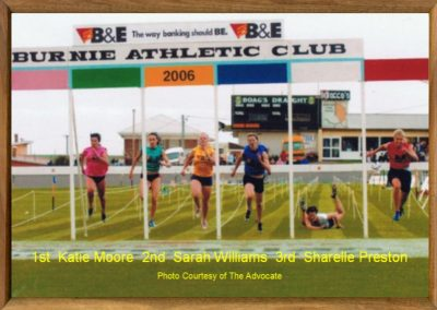 Women's Burnie Gift 2006