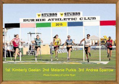 Women's Burnie Gift 2015