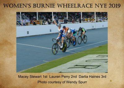 Womens Burnie Wheelrace NYE 2019