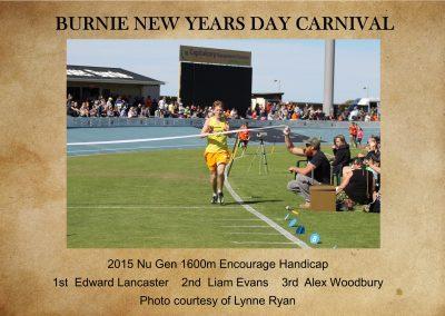2015 1600m Encourage Nu Gen Handicap